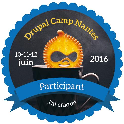 DrupalCamp Nantes 2016